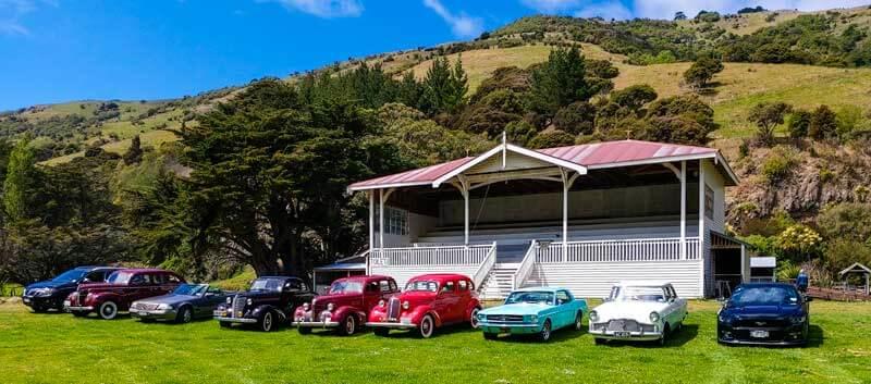 Car Club visit to Okains Bay Museum