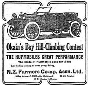 Okains Bay Hill Climbing Competition 1913